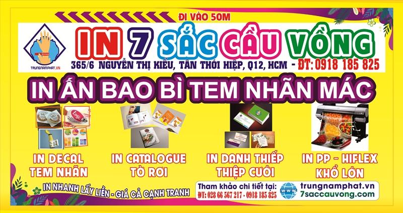 Công ty in đường Nguyễn Thị Kiểu, P. Tân Thới Hiệp, Quận 12