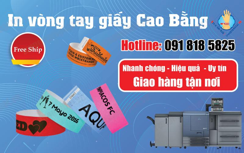 Địa điểm in ấn vòng tay giấy tỉnh Cao Bằng