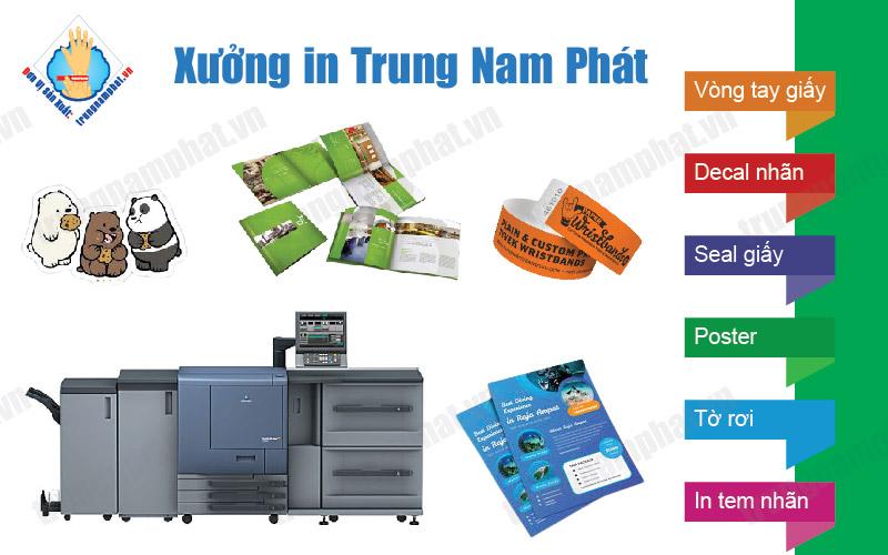 Xưởng in đường Nguyễn Thị Kiểu, P. Tân Thới Hiệp, Quận 12