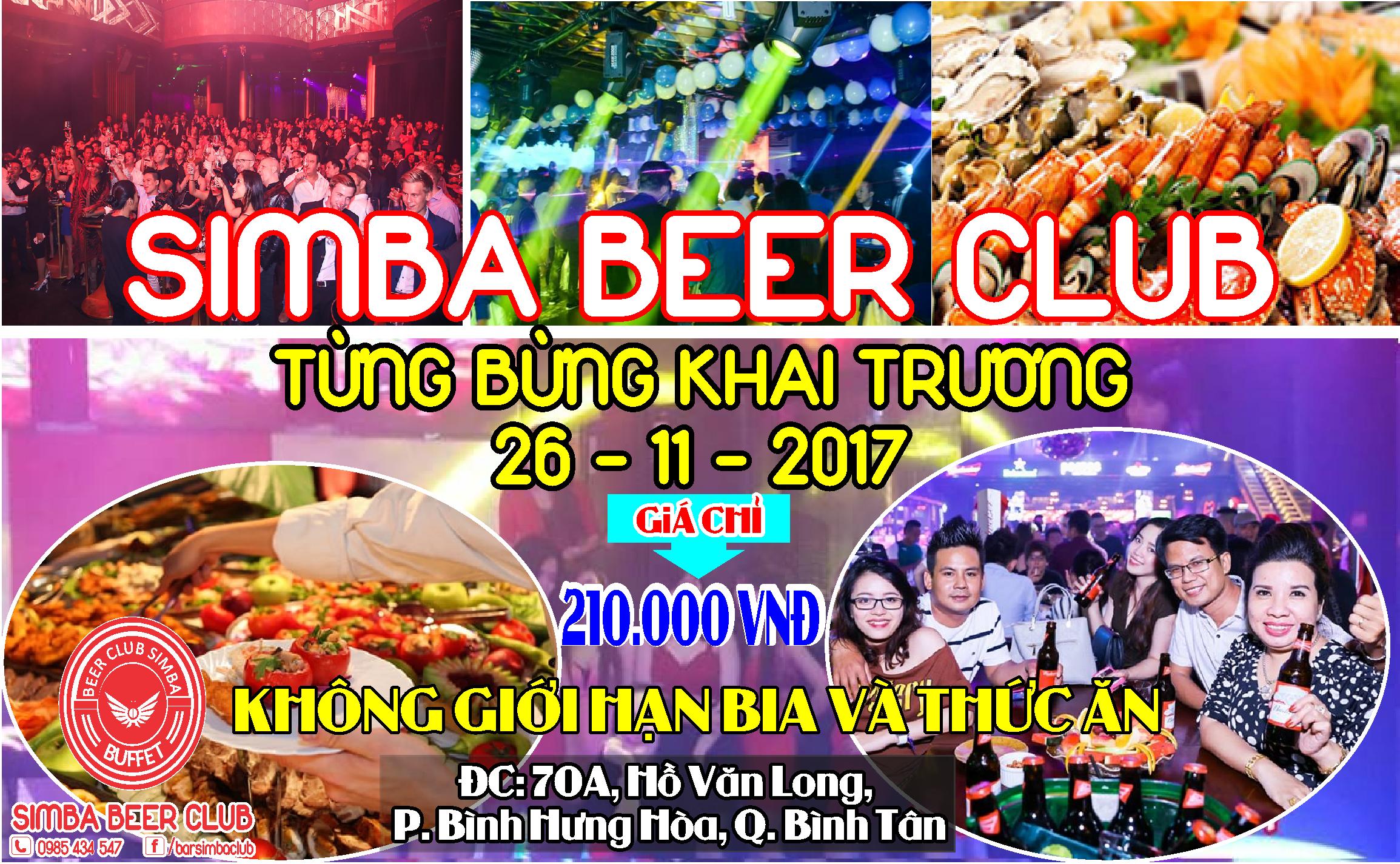 BUFFET BEER CLUB SIMBA BÌNH TÂN
