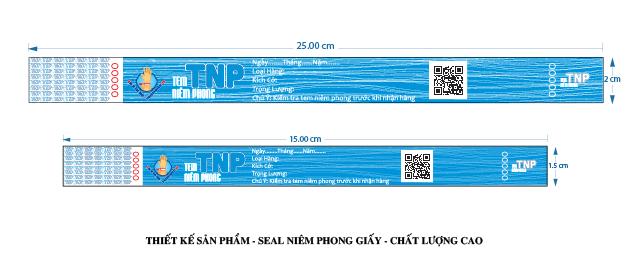Đặc điểm của Seal niêm phong giấy TNP